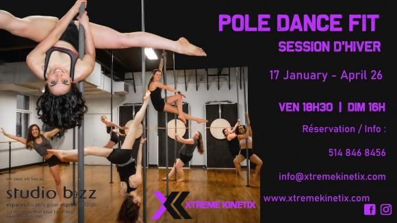 Pole Dance Fit avec Sara Flame
