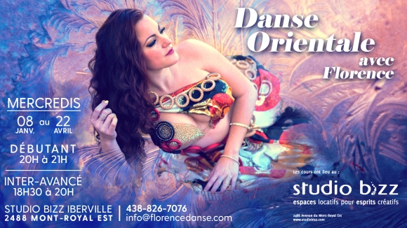 Oriental Dance (bellydance) with Florence Leclerc