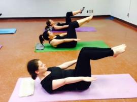 Pilates avec Grace Sangiorgio