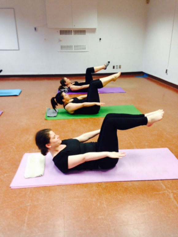 Pilates with Grace Sangiorgio