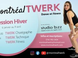 Twerk avec Montréal Twerk – Gabriela Marinkeva