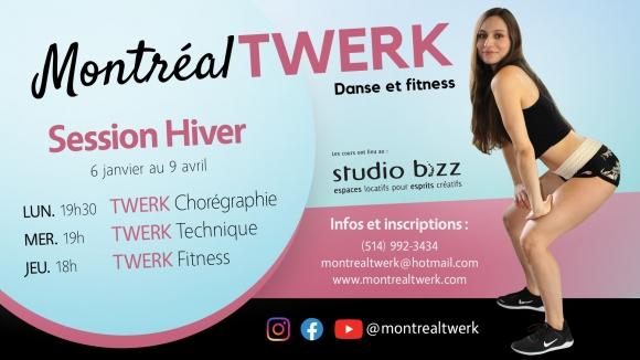 Twerk class with Montreal Twerk – Gabriela Marinkeva