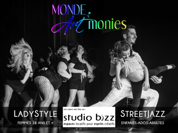 LadyStyle et StreetJazz avec Monde Art'monies
