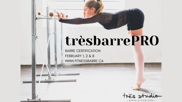 Certification trèsbarrePRO™
